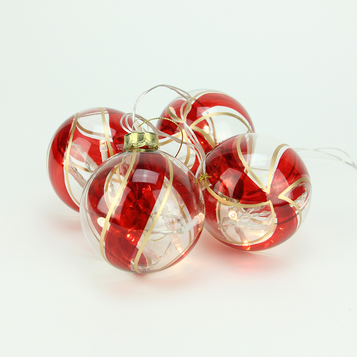 Battery Operated Clear Christmas Lights
