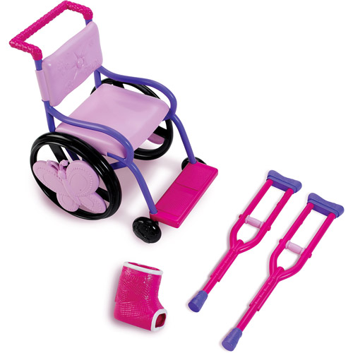 """My Life As Wheel Chair Set for 18"""" Doll"""