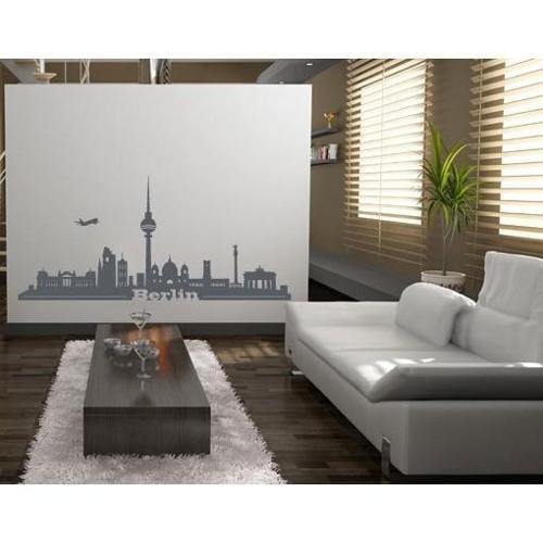 Style and Apply Berlin City Skyline Cityscape Wall Decal Vinyl Art Home Decor