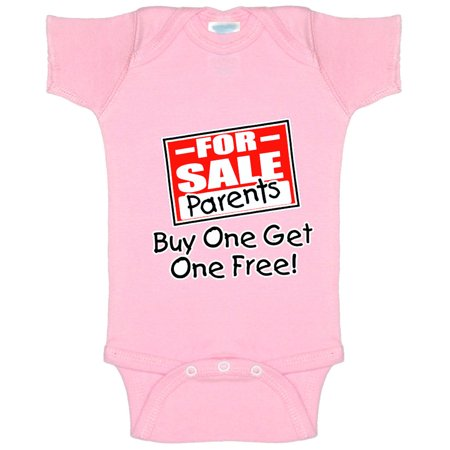 New Way A003 - Infant Baby Onesie Bodysuit For Sale Parents Buy One Get One Free! BOGO 24M Light Pink - Buy Adult Onesie