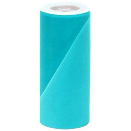 Offray Tulle Craft Ribbon, 6-Inch by 25-Yard Spool, Teal](Teal Ribbon)