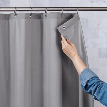 Better Homes Gardens Shower Ultimate Shield 100 Waterproof Fabric Curtain Liner 1 Each