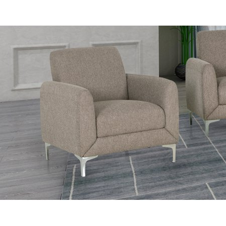 Best Master Furniture Damian Upholstered Arm Chair,