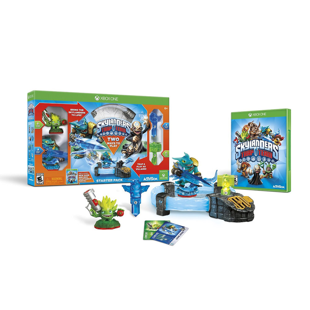 Skylanders Trap Team Starter Pack (Xbox One) by Activision
