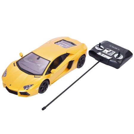 1 14 Lamborghini Aventador Lp700 4 Remote Control Car   Yellow