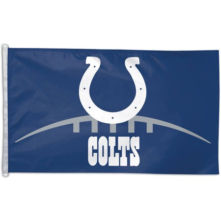 NFL Indianapolis Colts Team Flag, 3' x 5', Style - Indianapolis Colts Banner