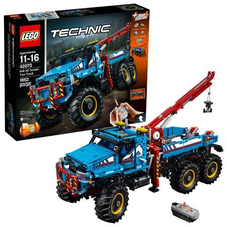 LEGO Technic 6x6 All Terrain Tow Truck 42070 (6x6 Blocks)