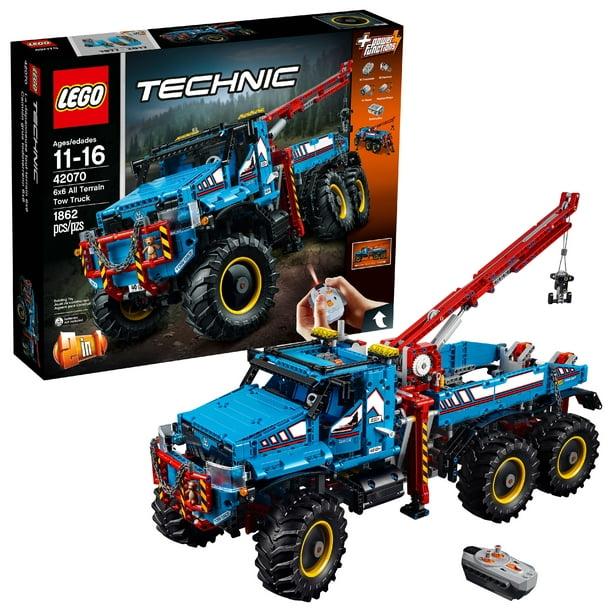 LEGO Technic 6x6 All Terrain Tow Truck 42070 - Walmart.com - Walmart.com