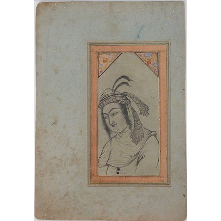 Bust-Length Portrait of a Woman Poster Print (18 x 24)