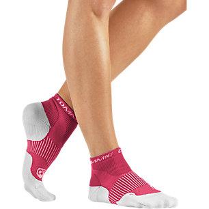 XL Women's Pomegranate Ankle Compression Socks