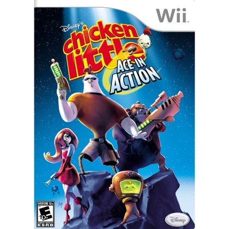 Disney's Chicken Little: Ace in Action (Wii)