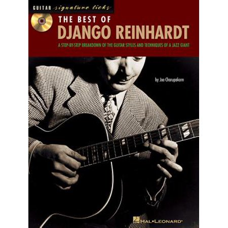 Guitar Signature Licks: The Best of Django Reinhardt (Django Reinhardt Best Of)