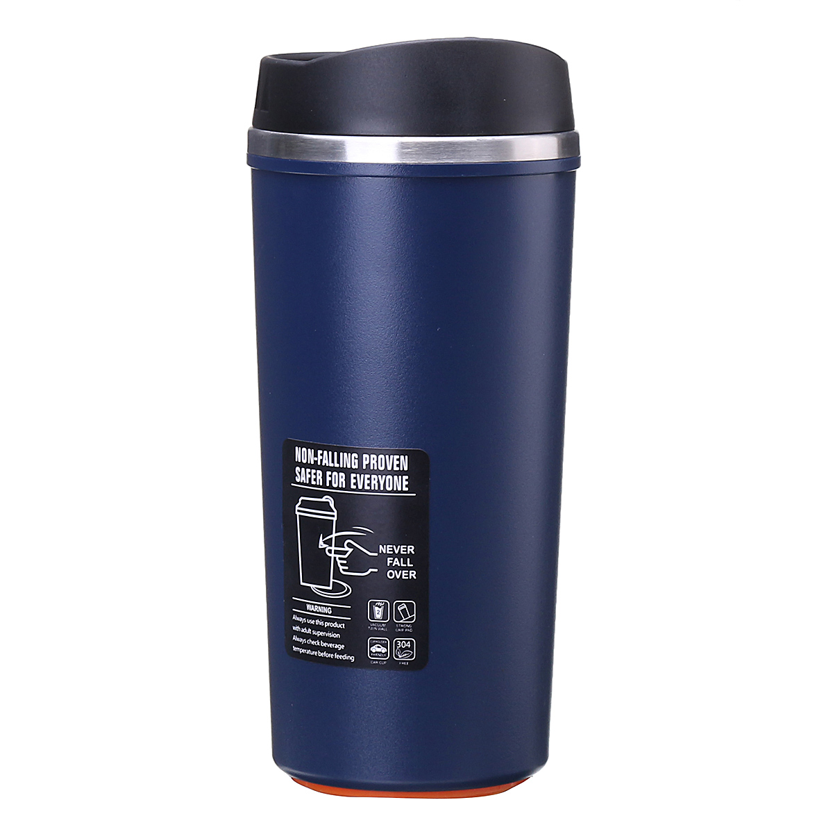 STAINLESS STEEL Takeaway Travel MUG Vacuum Insulated Cup ...
