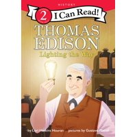 I Can Read Level 2: Thomas Edison: Lighting the Way (Paperback)