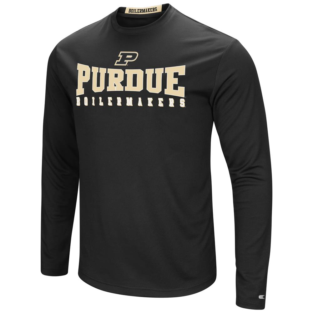 Purdue University T-Shirt Performance Long Sleeve Shirt
