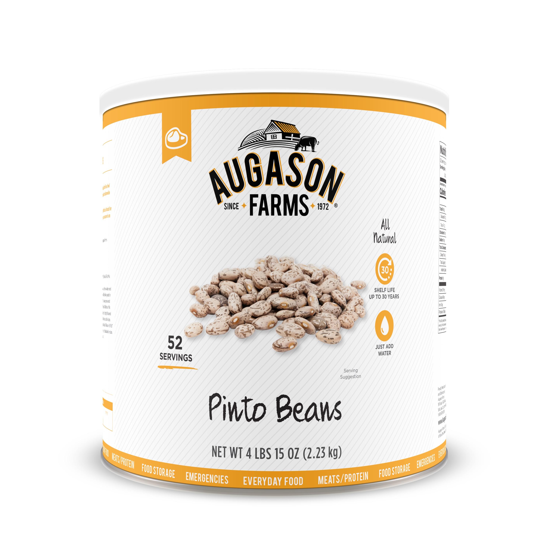Augason Farms Pinto Beans 4 lbs 15 oz No. 10 Can