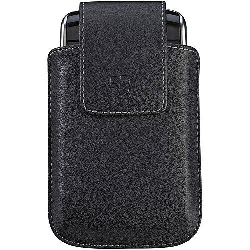 BlackBerry Synthetic Leather Case With Swivel Belt Clip For Storm 9500/9530