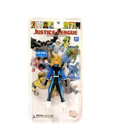 Justice League International Series 1 Black Canary Action Figure by DC Comics Black Hand Dc Comics