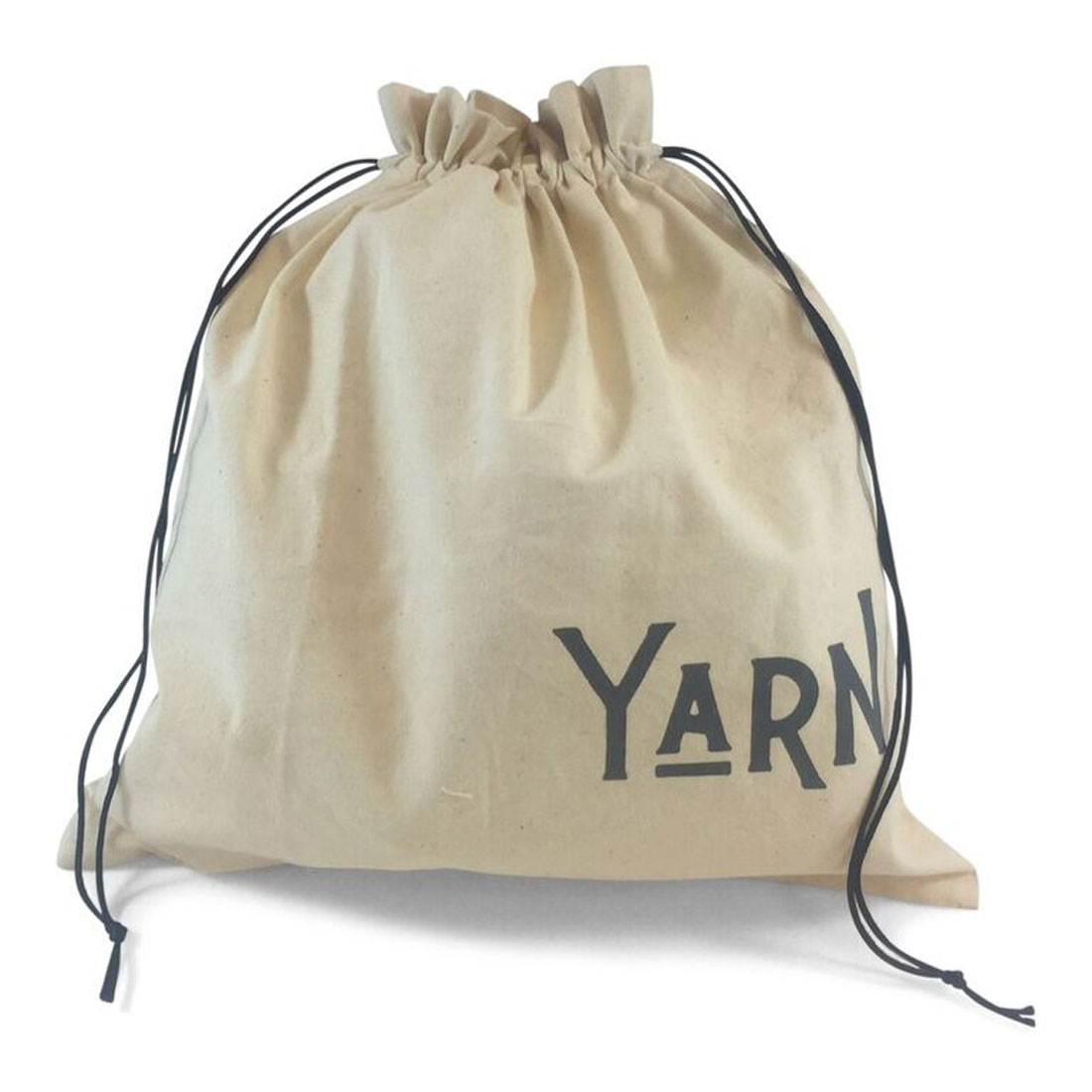 "della Q Edict Yarn Storage and Knitting Large Bag (14.5"" W x 16.5"" H) ""Yarn Goddess"""