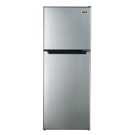 RCA 7.2 Cu. Ft. Top Freezer Refrigerator in Platinum ()