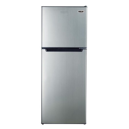- RCA 7.2 Cu. Ft. Top Freezer Refrigerator in Platinum