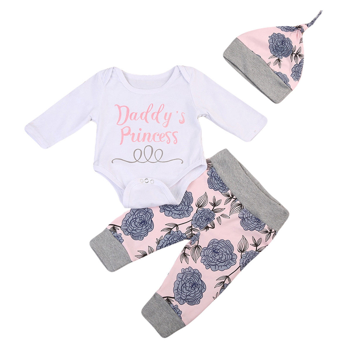 Le SSara Baby Girl Black Princess Romper Baby Bodysuit Costume Outfit 6-12 Months