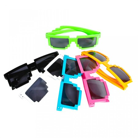 Assorted Color Pixel (Sunglasses Costume)