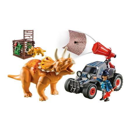 Playmobil Quad Bike (PLAYMOBIL Enemy Quad with Triceratops)