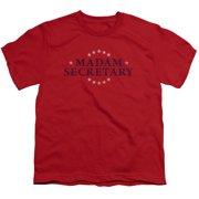 Madam Secretary Distress Logo Big Boys Shirt