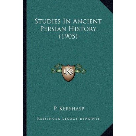 Studies in Ancient Persian History (1905) - image 1 de 1