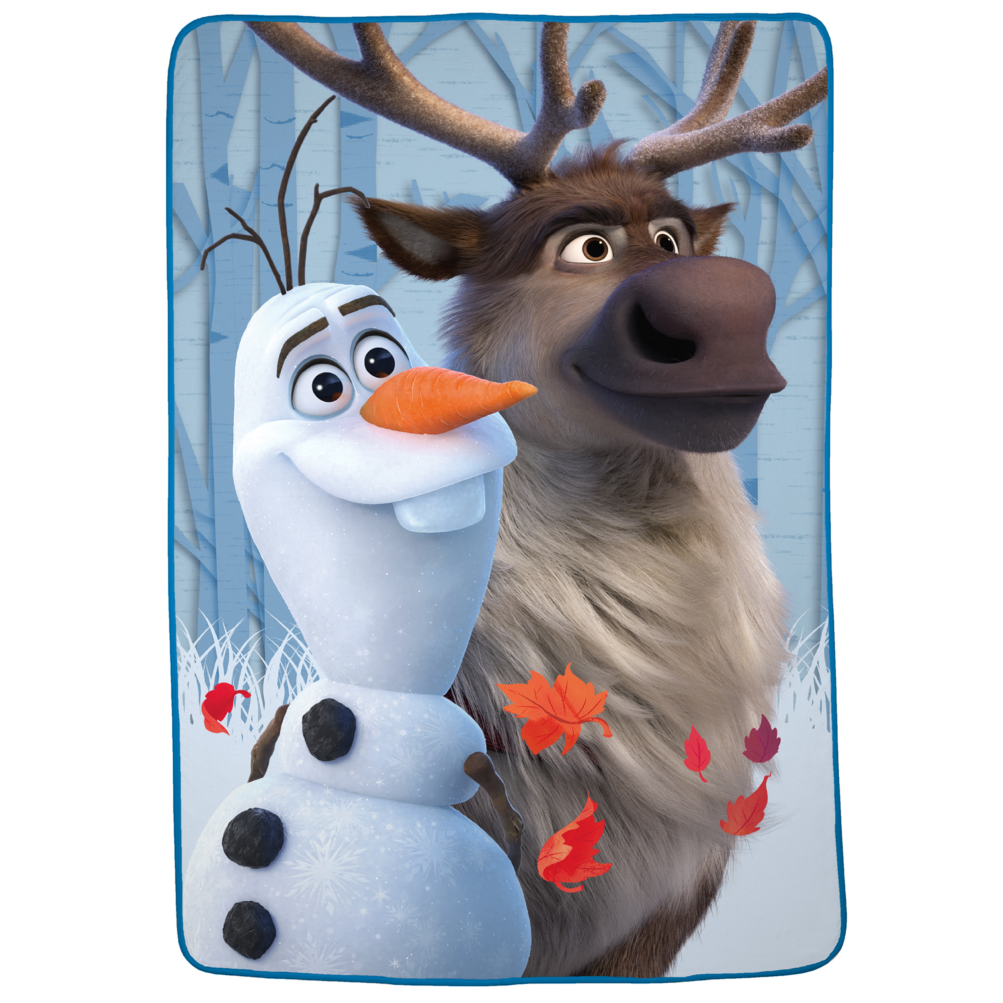 Reduced Disneys Frozen Olaf minky blanket  only 1 available