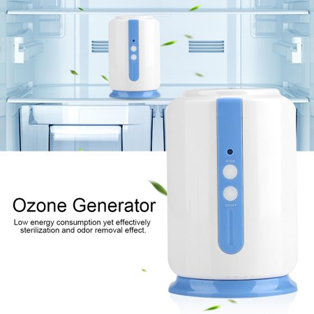 ABS Home Portable Ozone Generator,Fridge Sterilizer Food Vegetable  Preservation Battery Powered,Ozone Generator, Ozonator,Remove Unpleasant