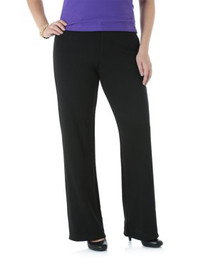 Lee Riders Women's Ponte Knit Straight Leg Pant