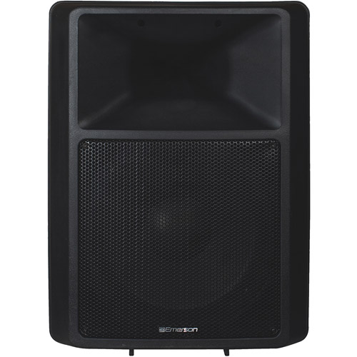 """JS Karaoke Emerson 300-Watt 2-Way Speaker with 12"""" Woofer"""