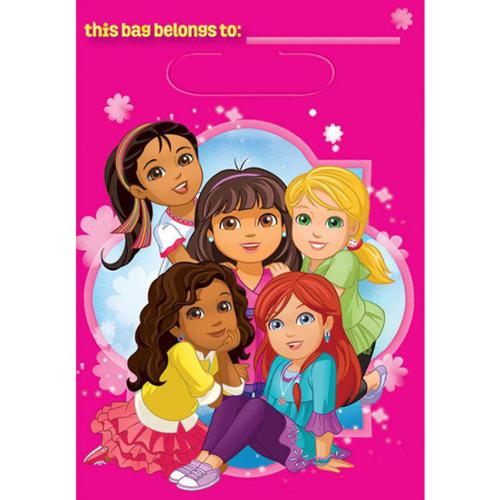 Dora and Friends Loot Favor Bags (8 Pack) - Party Supplies