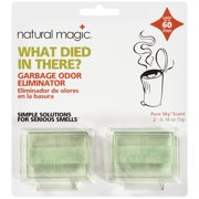 Natural Magic Garbage Odor Eliminator, Pure Sky Scent, 2 count