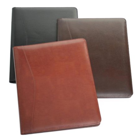 Red Leather Padfolio (Royce Leather  Aristo Genuine Leather)