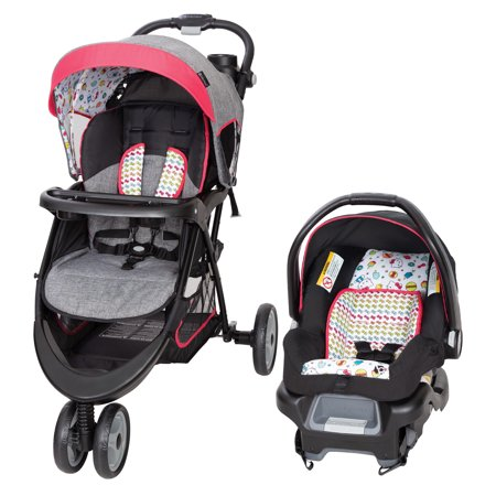 Baby Trend EZ Ride 35 Travel System-Hello Kitty Ice Cream