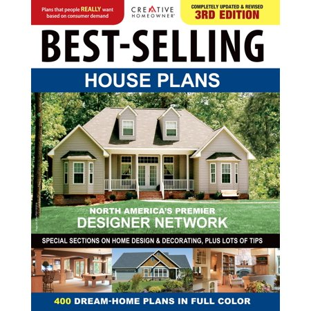 Best-Selling House Plans: 400 Dream Home Plans in Full Colour -