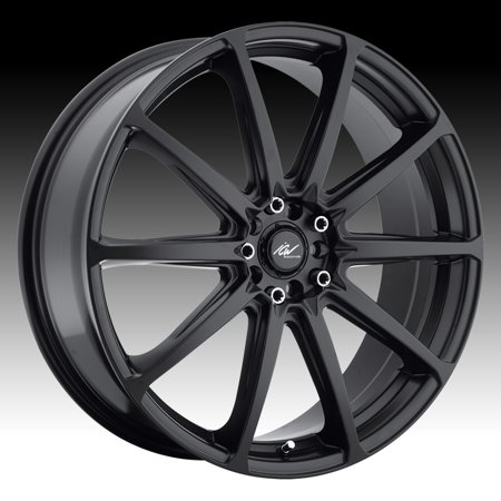 ICW Racing 60B Banshee Satin Black 60x6060 60x1060 60x6060 60mm 60B Extraordinary 5x105 Bolt Pattern