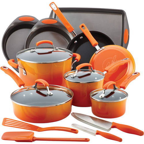 Rachael Ray 17-Piece Cookware Set