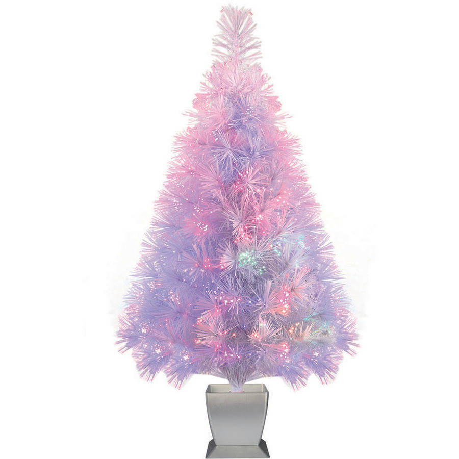 Holiday Time Artificial Christmas Trees Pre Lit 32 Quot Fiber