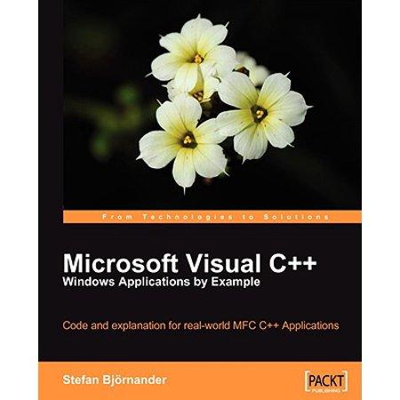 Microsoft Visual C++ Windows Applications by