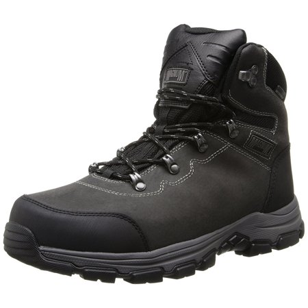 - Magnum Mens Austin Mid Waterproof Steel Toe Charcoal Work Boots 5550