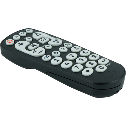 GE 25040 3-Device Universal Remote with Oversized Buttons