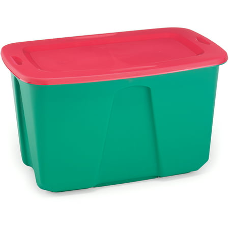 2pk 32gal Holiday Storage Tote - Homz