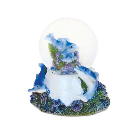 Halloween Vhs Snow Globe (Dolphin Cove Underwater Nirvana Snow globe)