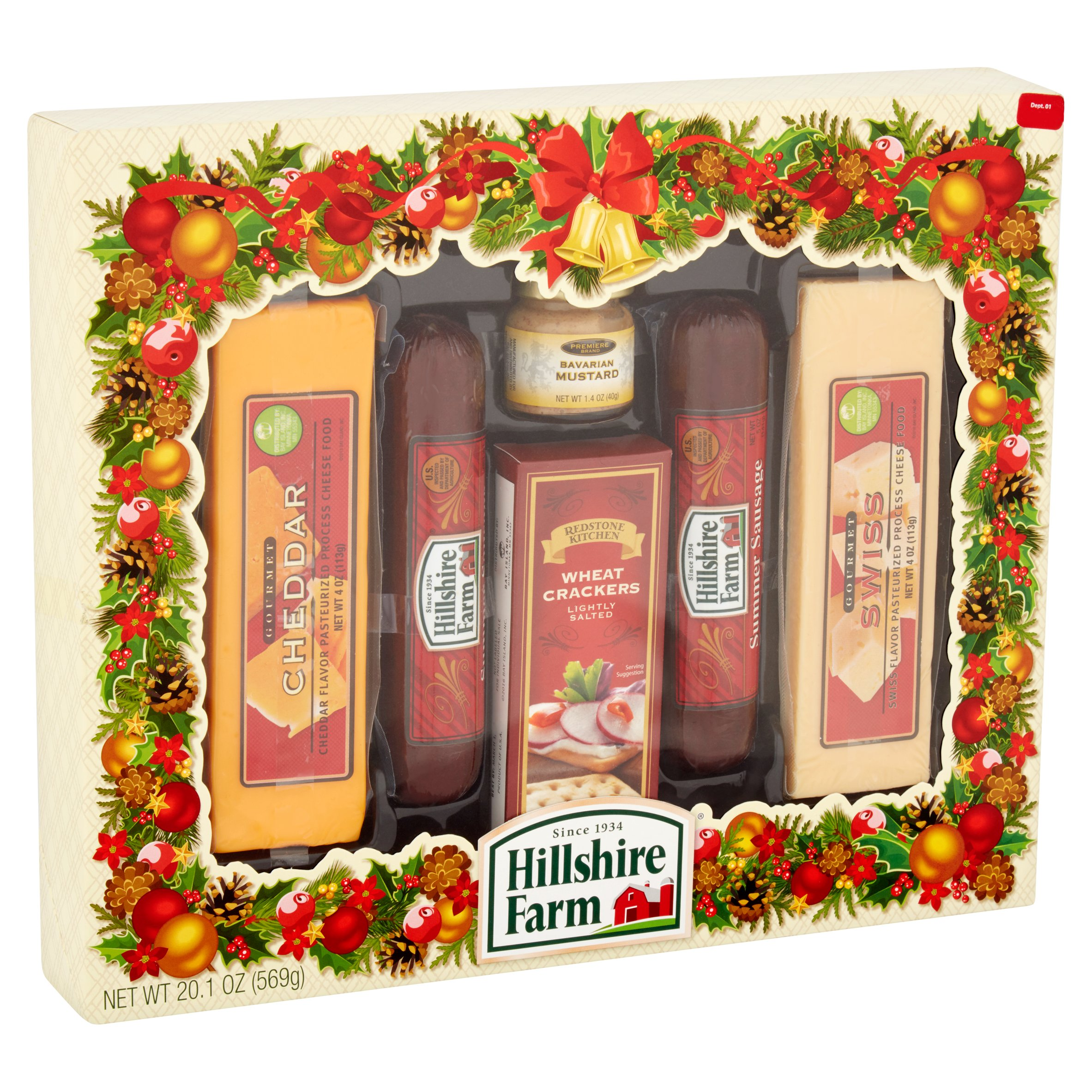 Hillshire Farm Holiday Sausage & Cheese