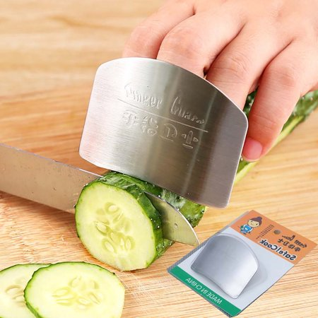 Protect Finger Safe Kitchen Stainless Steel Cutting Slice Protection Tools