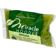 Miracle Noodle, Spinach, Shirataki Pasta, 7 oz (pack of 4)